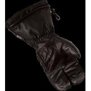 Варежки кожаные Leather